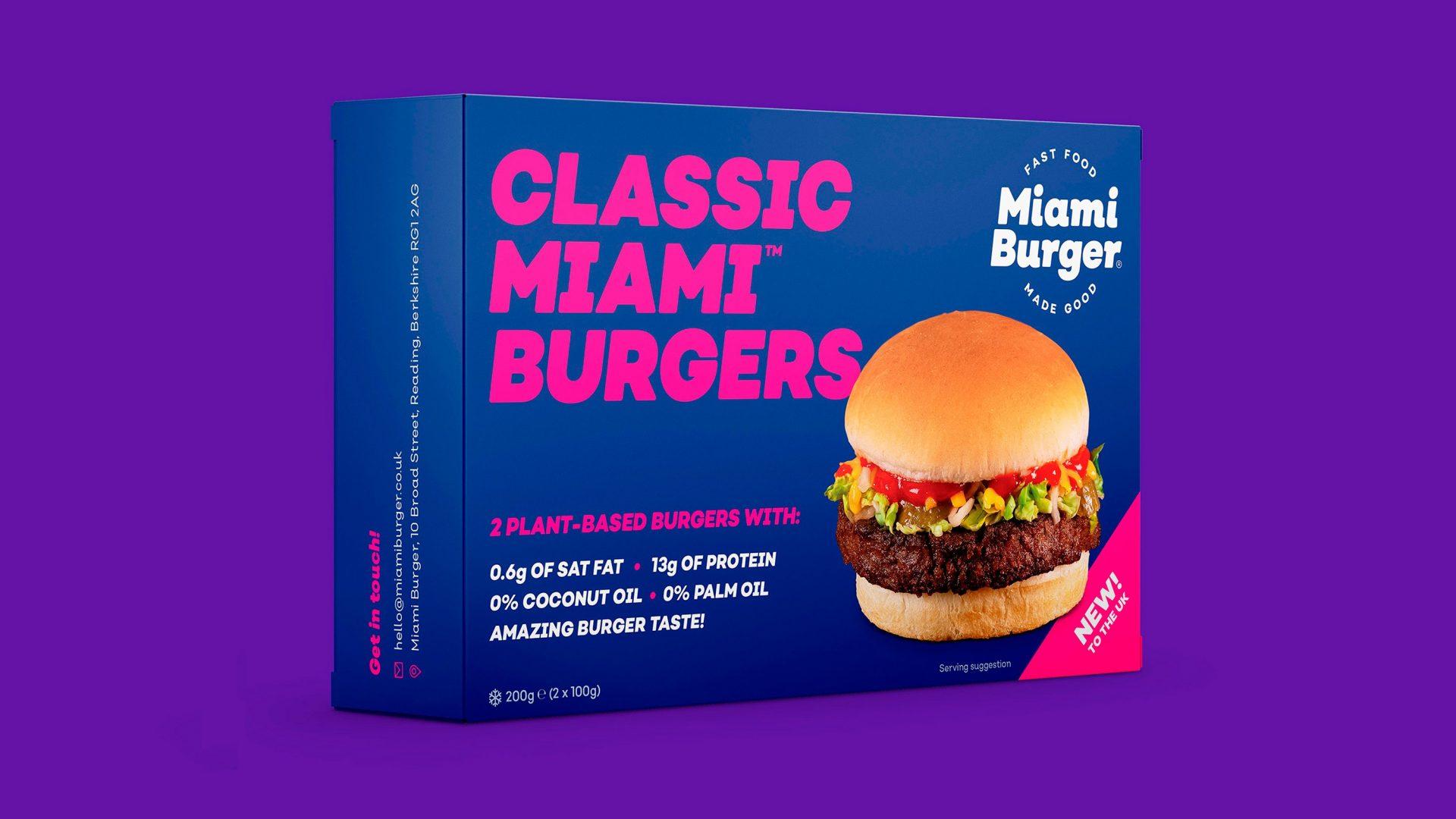 Banner miami burger classic box