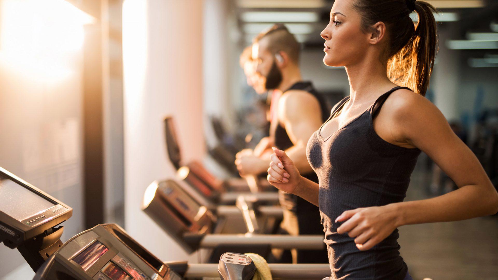 Work nuffield health treadmill