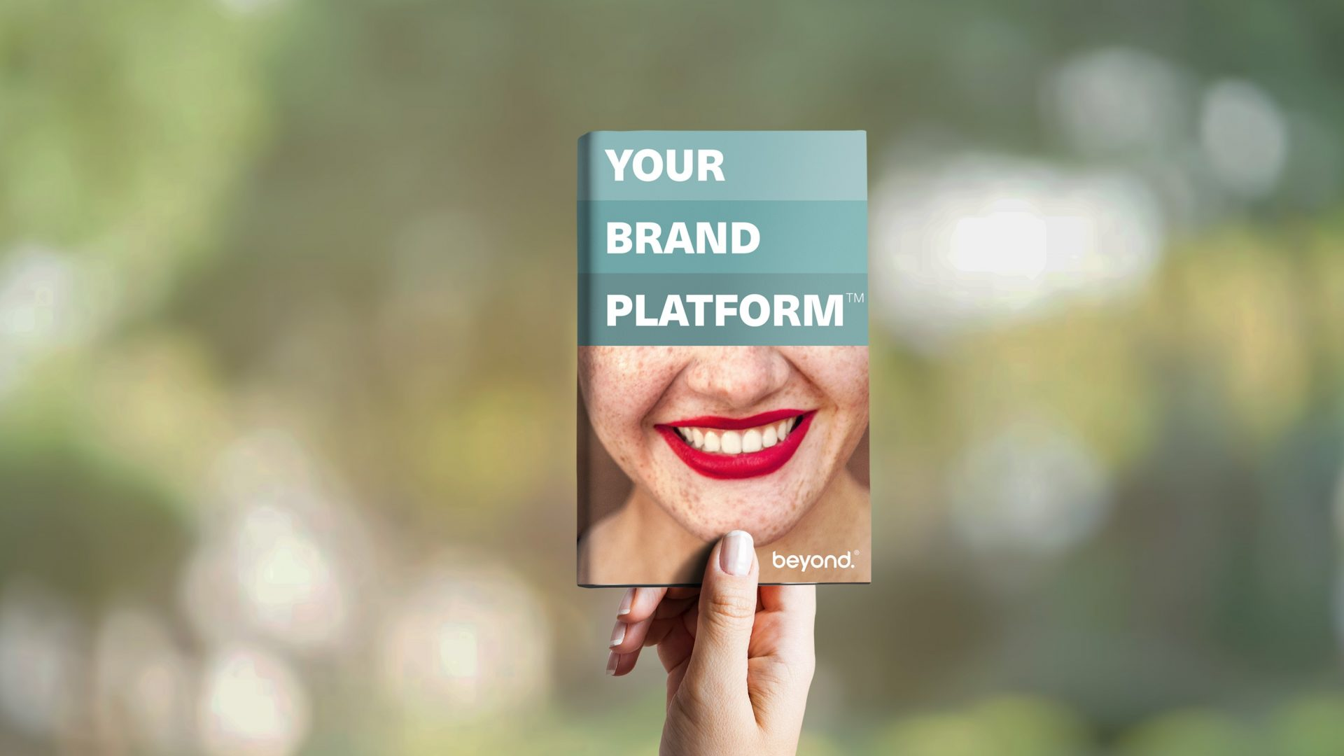 Your brand platform