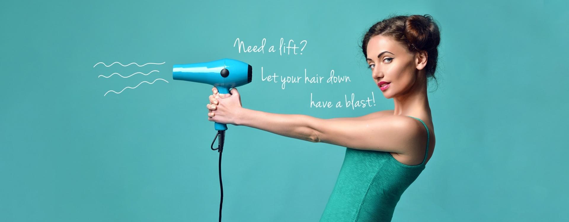 Work pifco hairdryer girl
