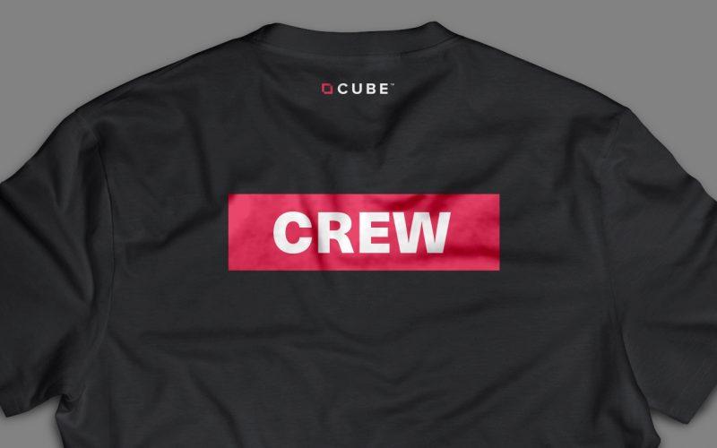 Work cube tee
