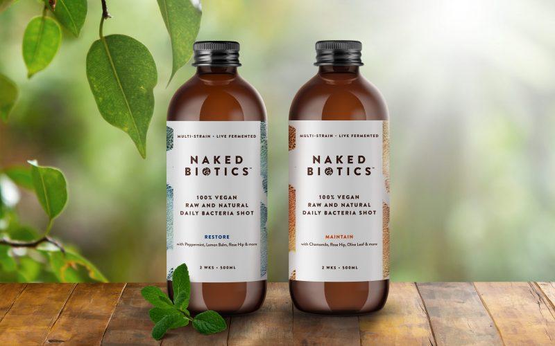 Work naked biotics bottles